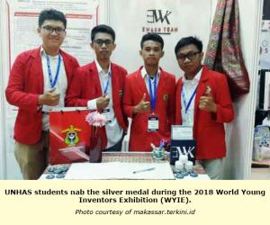 UNHAS students discover the benefits of rambutan skin for dental health