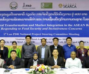 ATMI-ASEAN gathers agricultural experts in 1st Lao PDR National Project Steering Committee Meeting