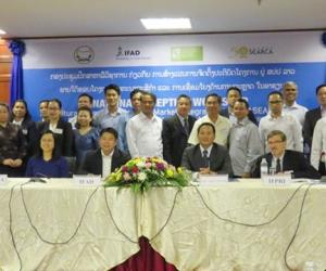 ATMI-ASEAN Project launched in Lao PDR with National Inception Workshop