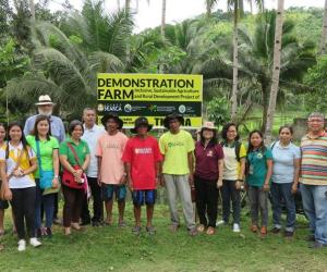 ISARD Demonstration Farms in Inopacan, Leyte launched