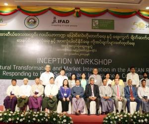 Myanmar kicks off ATMI-ASEAN Project with national inception workshop