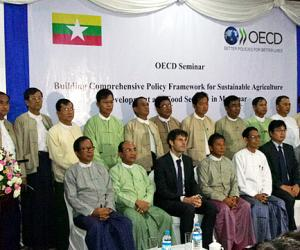 Myanmar's re-organized ministry of agriculture seeks to develop enabling policy framework for sustainable agriculture development and food security