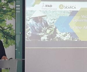 SEARCA Director opens IFAD-funded Asia-Pacific regional workshop
