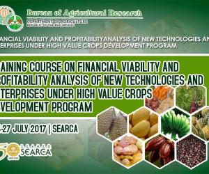 SEARCA organizes 3rd training on financial viability of new high-value crop technologies and enterprises