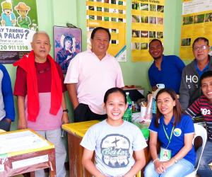 SEARCA showcases agricultural progress of pilot ISARD activities in Inopacan, Leyte