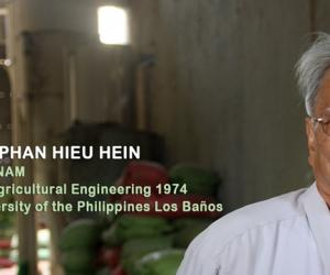 Vietnam's pioneer in rice grain drying technology is SEARCA's Outstanding Alumnus