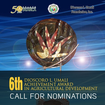 Call for Nominations: 6th Dioscoro L. Umali Achievement Award in Agricultural Development