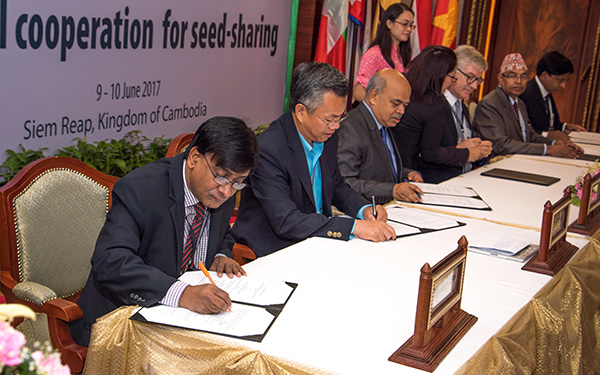 agreement on multi country seed sharing reached 01