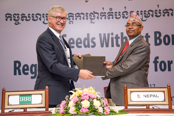 agreement on multi country seed sharing reached 02