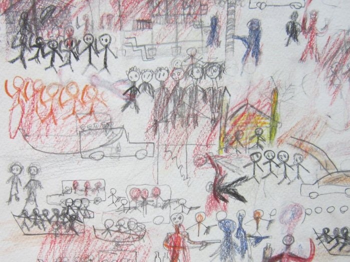 Child's View Of Burma's Horror: By Mohammed, an 11-year-old boy from Kyuak Phuyu: 'The houses were attacked by Buddhists and monks. They tried to defend the mosque'