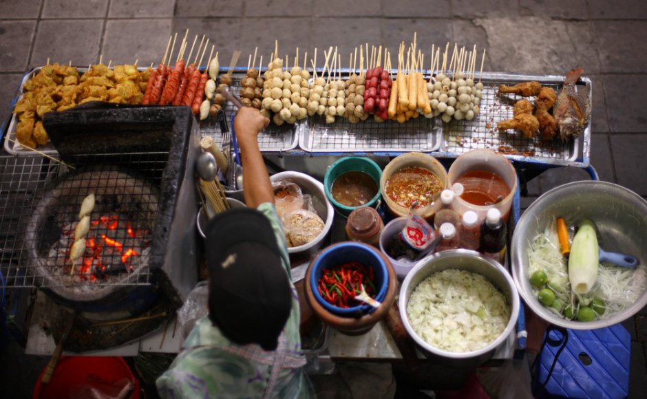 A street vendor in Bangkok, Thailand. Source: David Kucera/Shutterstock