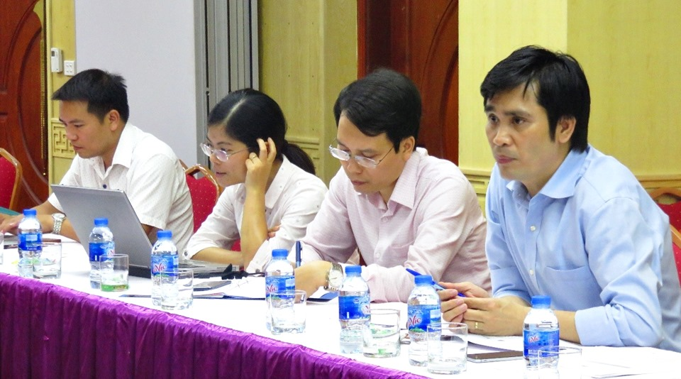 Vietnam NPSC members discuss with SEARCA Team the plans for the Vietnam component of the ATMI-ASEAN Project.