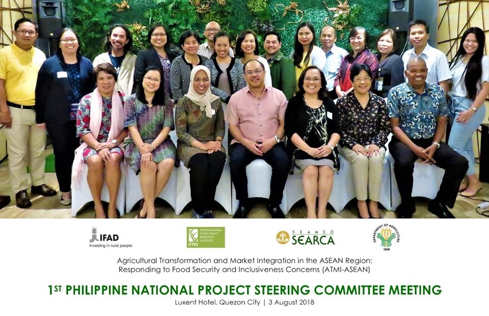 atmi asean da organize 1st national project steering committee meeting philippines 01