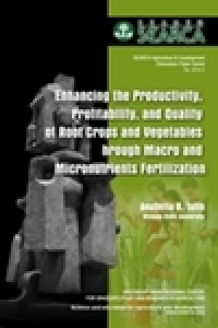 Enhancing the Productivity, Profitability and Quality of Root Crops and Vegetables through Macro and Micronutrient Fertilization