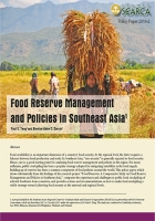 Food Reserve Management and Policies in Southeast Asia