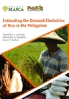 Estimating the Demand Elasticities of Rice in the Philippines
