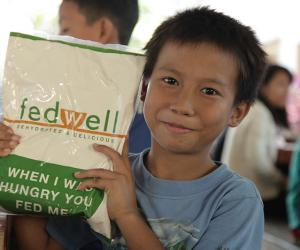 Myanmar's Fedwell reaches out to hungry kids in Ethiopia