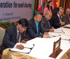 Agreement on multi-country seed-sharing reached