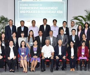 Food Reserve Management and Policies in Southeast Asia Tackled at Regional Workshop