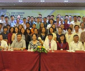SEARCA-ASRF Travel Grantees present in the 7th Meeting of the CSO Forum on Social Forestry in ASEAN