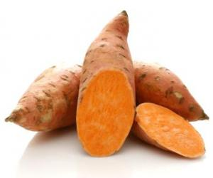 Eat well : The natural goodness of sweet potatoes