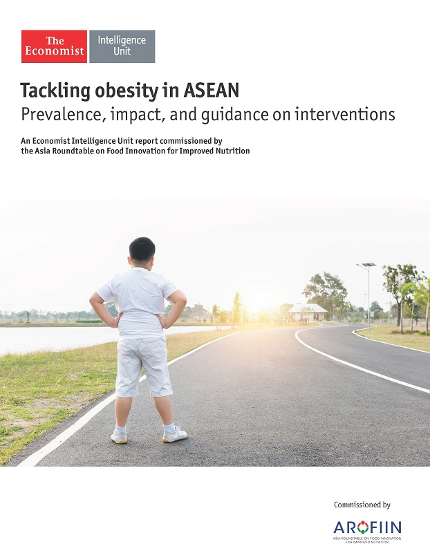"The ""Tackling obesity in ASEAN: Prevalence, impact, and guidance on interventions"" report, commissioned by the Asia Roundtable on Food Innovation for Improved Nutrition (ARoFIIN) and carried out by the Economist Intelligence Unit (EIU), was launched on 1 June 2017 in Singapore."