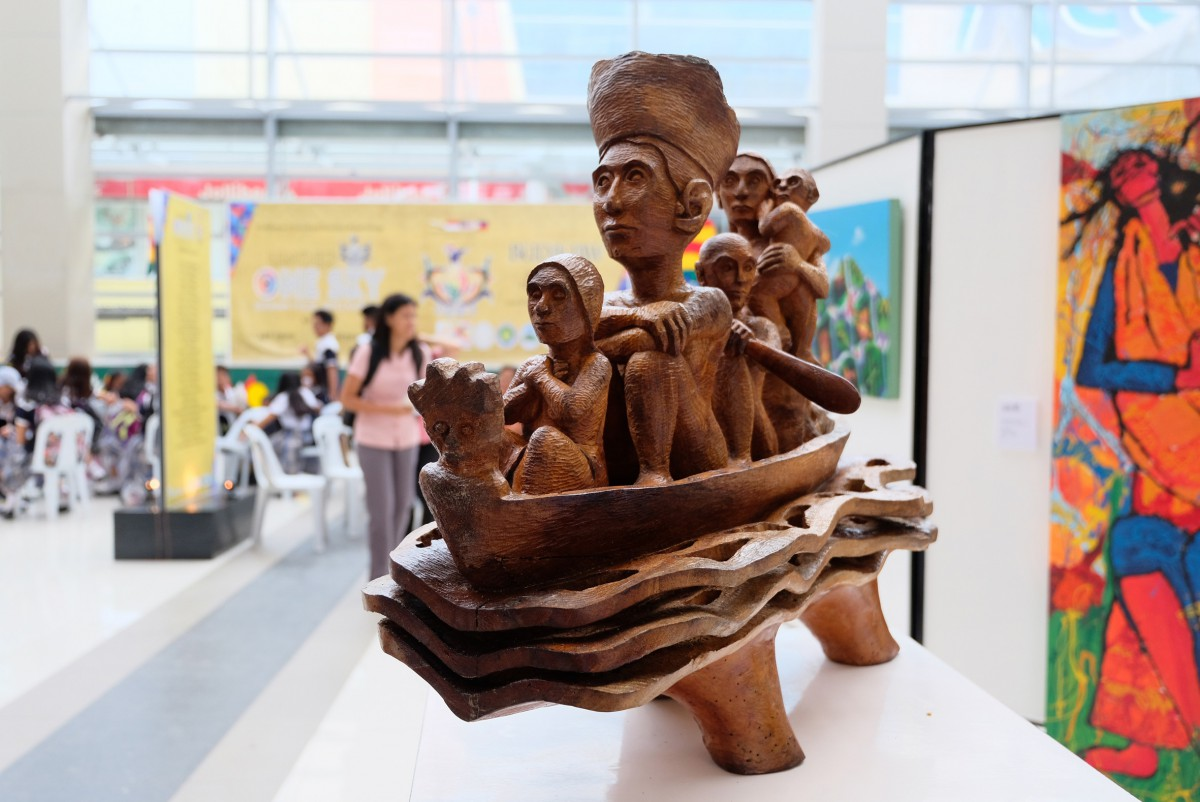 One of the art works on display as part of the 1st Budayaw 2017 BIMP-EAGA Festival on Culture and Arts in General Santos City, Philippines on Sept 20, 2017. Source: Bong Sarmiento