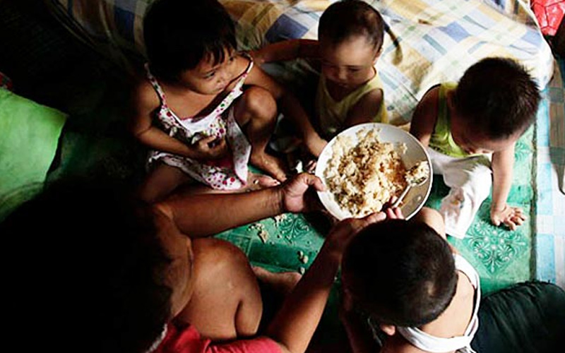 poverty kids food file pic 250319 1