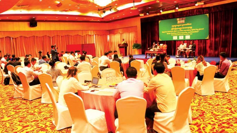 Thirty-two of 100 Cambodian children are stunted due to malnutrition, Scaling Up Nutrition Civil Society Alliance (SUN CSA) coordinator Hou Kroeun said on Friday. Photo supplied
