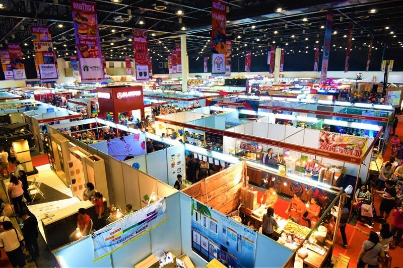 F&B products and services all under one venue at Manila Foods and Beverages Expo 2019.