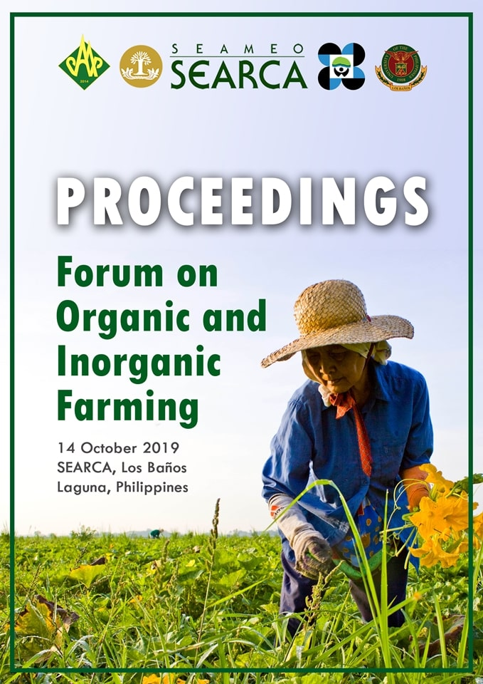 proceedings forum organic inorganic farming now available online 01