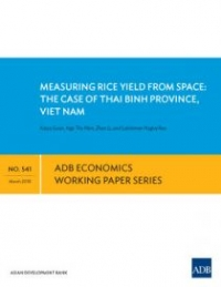 Measuring Rice Yield from Space: The Case of Thai Binh Province, Viet Nam