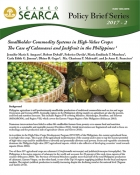 Smallholder Commodity Systems in High-Value Crops: The Case of Calamansi and Jackfruit in the Philippines