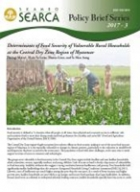 Determinants of Food Security of Vulnerable Rural Households at the Central Dry Zone Region of Myanmar