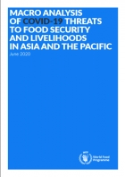 Macro Analysis of COVID-19 - Threats to Food Security and Livelihoods in Asia and the Pacific, June 2020