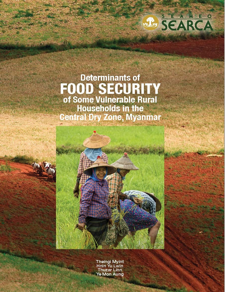 Determinants of Food Security of Some Vulnerable Rural Households in the Central Dry Zone, Myanmar