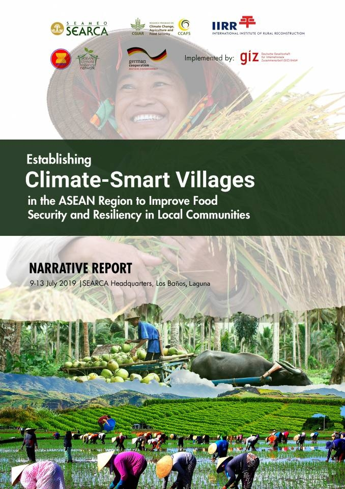 Establishing Climate-Smart Villages in the ASEAN Region to Improve Food Security and Resiliency in Local Communities