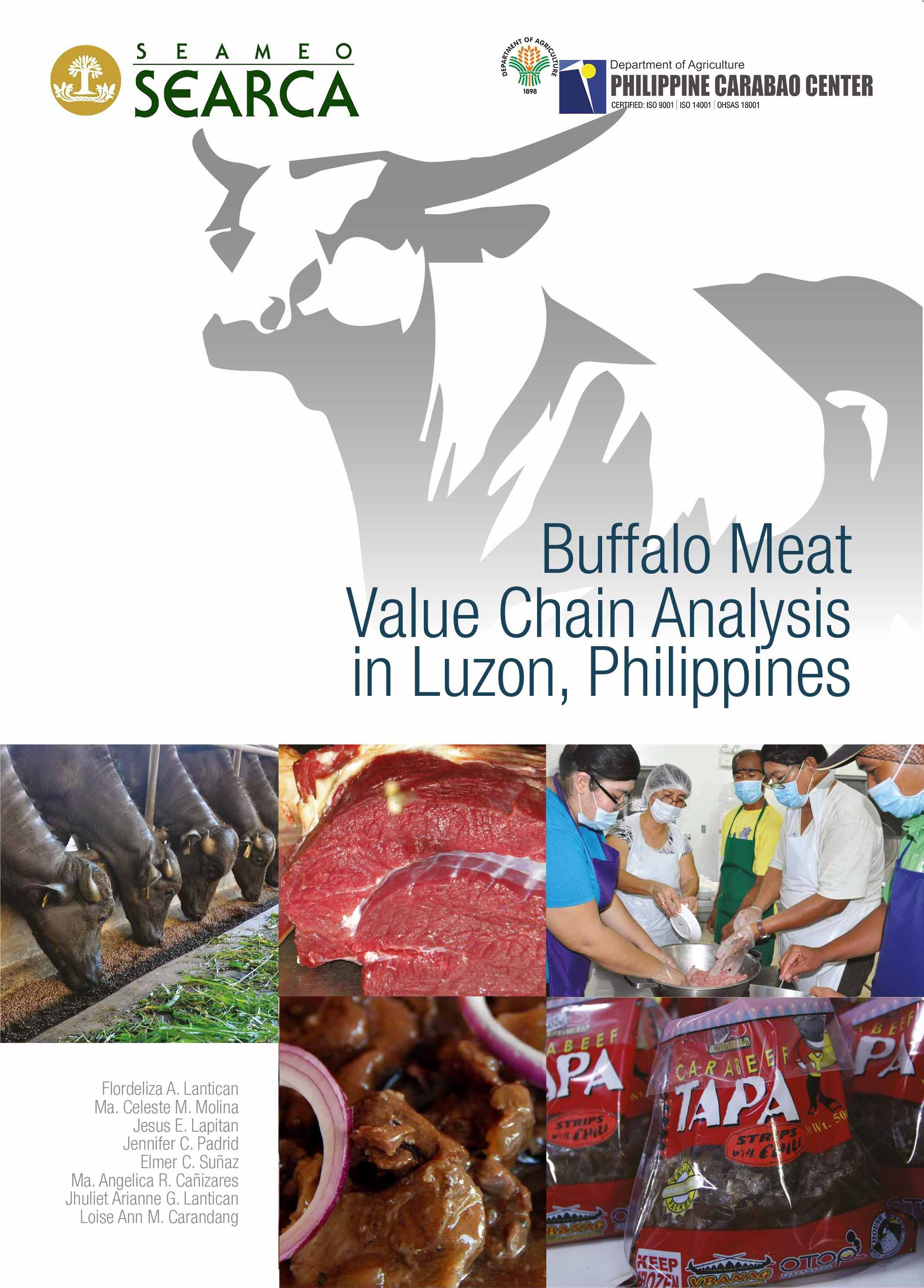 Buffalo Meat Value Chain Analysis in Luzon, Philippines