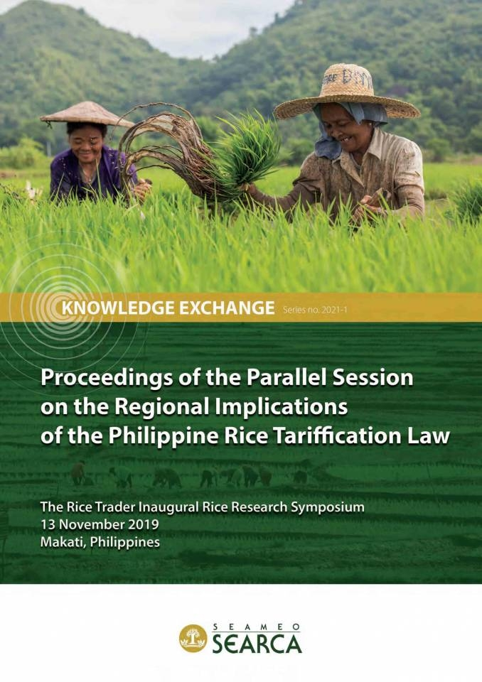 Proceedings of the Parallel Session on the Regional Implications of the Philippine Rice Tariffication Law