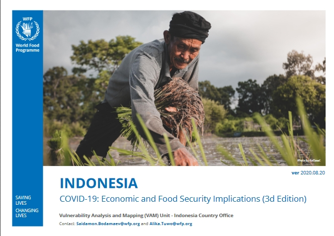 COVID-19 Economic and Food Security Implications for Indonesia - 3rd edition August 2020